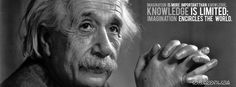 imagination is more important that knowledge einstein quote timeline covers Free Facebook Cover Photos, Cool Facebook Covers, Beautiful Facebook Cover Photos, Facebook Timeline Covers, Fb Covers, Timeline Photos, Hd Quotes, Photo Quotes, Life Quotes