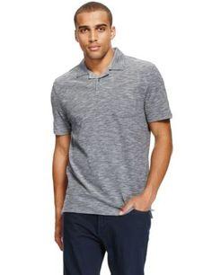 Pure Cotton Revere Collar Polo Shirt | M&S