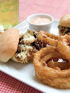 Steak Sandwiches with Caramelized Vidalia Onions. YUM! I love the sweet taste of Vidalia onions!