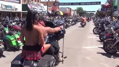 Get a taste of the 2015 Sturgis Motorcycle Rally! Check out the footage from the event: http://blog.bikerornot.com/a-taste-of-sturgis-motorcycle-rally-2015/?ref=pinterest-082015-0834
