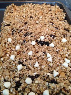Look Lori Bateson Huhn! Looks great for Tom!  A Celiac: No Bake Granola Bars