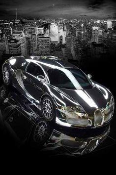 Luxurious BUGGATI silver