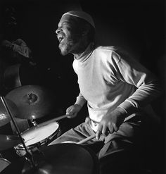 Billy Higgins - jazz drummer and unstoppable spreader of joy. Jazz Artists, Jazz Musicians, Francis Wolff, Ornette Coleman, Classic Jazz, All That Jazz, Instruments, Jazz Blues, Classical Music