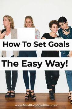 Ready to live your best life? Then that means you need to set goals. Whether it is goals about your relationship, body, personal ideas, bullet journal, career, fitness, for 2020, or even for the future, you are going to want to read the best easy way for you to set goals. #goals #goalsetting #timemanagement #mbsb #selfcare