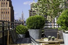 VIEWSDAY | Why not take in the views of beautiful NYC from your hotel room's personal terrace?