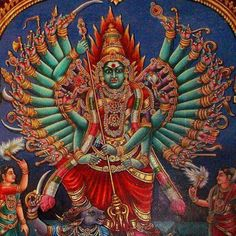 Maa Durga - Anyone knows what this particular Swaroop of Maa is called?