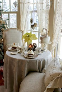 A Winter Tea by Carolyn Aiken