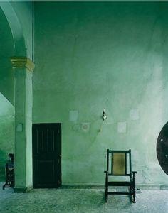 Rocking Chair at Havana, Cuba - Michael Eastman Photography