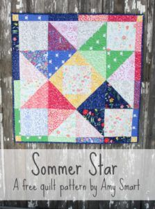 Sarah Jane's Sommer Fabric and Quilt Patterns