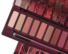 Urban Decay Naked Cherry Collection Swatches, Review + Look Urban Decay Eyeshadow Palette, Makeup Must Haves, Girl Guides, Pale Skin, Beauty Review, Colorful Makeup, Makeup Trends, Sephora, Swatch