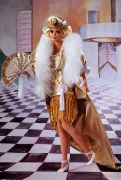 1920s Flapper Barbie Doll