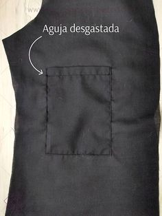 10 consejos para coser como un profesional. – Nocturno Design Blog Design Blog, How To Make Clothes, Sewing Techniques, Apron, Textiles, Long Sleeve, Mens Tops, Diy, Fashion