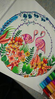 Johanna Basford Magical Jungle Coloring Book