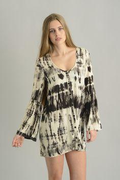 South shirt maxi dress