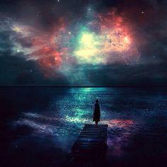 "Wallpaper Alert: ""Sky Full of Stars"" by BaxiaArt.deviantART.com"
