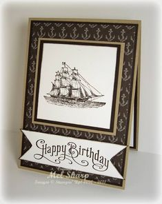 Perfectly Penned Open Sea by stampinandstuff - Cards and Paper Crafts at Splitcoaststampers