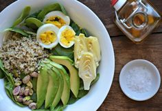 Vegetarian Protein Packed Salad, www.mountainmamacooks.com