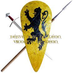 Hervé  ler de Léon, Vicomte de Leon took the Cross in 1096 to join the first crusade.