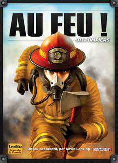 Au feu! 911 Pompiers - Jeu de société