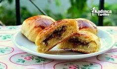 Kıymalı Pastane Poğaçası Tarifi Bagel, French Toast, Gluten Free, Bread, Breakfast, Food, Glutenfree, Morning Coffee, Brot