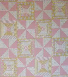 retro patchwork cheater print -superbuzzy