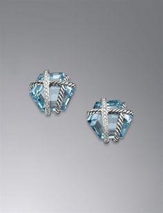 david yurman earrings and they're my birthstone!