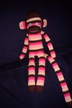 sock monkey tutorial (you will need to scroll back to step 1) by carlene