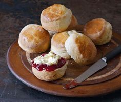 Paul Hollywood scones - made them, they were delicious