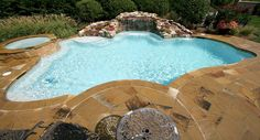 Custom Pool Gallery - Freeform Pools and Spas by Peek Pools and Spas Nashville, Tennessee