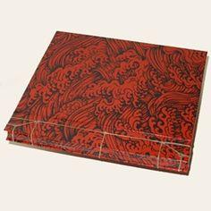Kangxi Binding by customer Christopher Brown using Japanese Lacquered Yuzen KOMAMI http://www.mulberrypaperandmore.com/p-4227-japanese-lacquered-yuzen-paper-konami.aspx.