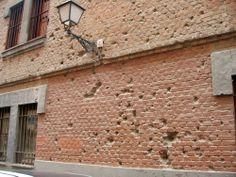 Huellas visibles de la Guerra Civil que permanecen en Madrid