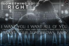 Something So Right by Natasha Madison