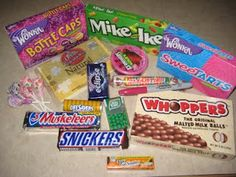 Love the ideas to use with various candies. Great for Youth group, AWANA, camp etc.