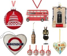 The Best London Christmas Decorations - Everyone wants a London-themed tree, right?