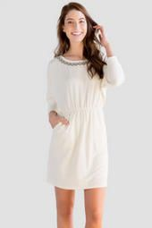 Francesca's® Free Embellished Dress (not with those shoes, obvi)