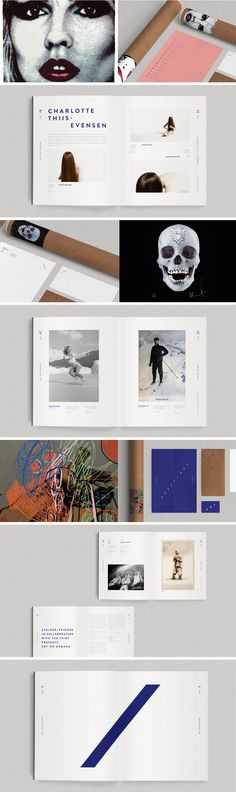 Art On Demand on Behance Work by Bleed Designstudio, Oslo Editorial Layout, Editorial Design, Graphic Design Layouts, Layout Design, Portfolio Presentation, Visual Identity, Corporate Identity, Brand Identity, Book Photography