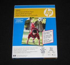 HP Advanced Photo Paper Glossy #HP