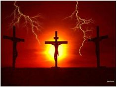 Calvary Cross Pictures of Jesus Christ Calvary Cross, Where In The Bible, Image Jesus, Cross Pictures, Pictures Of Crosses, Pictures Of Jesus Christ, Religious Pictures, Easter Specials, Santos