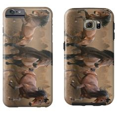 Equestrian Accessories - Wild Horses - iPhone and Galaxy Cases - $35.00