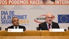 Victor Calvo-Sotelo, Secretario de Estado de Telecomunicaciones y Guillermo Cámovas, Presidente de Protégeles, inauguran el III Congreso Nacional Joven y en Red. #SID2014