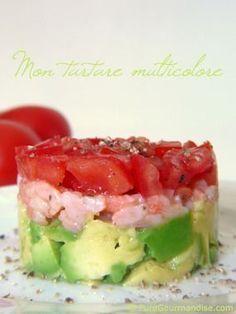 """""""Tartare multicolore tomate avocat citron confit"""": Delicious!"""