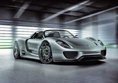 Top 10 most powerful production cars in the world. 4. Porsche 918 Spyder – 795hp