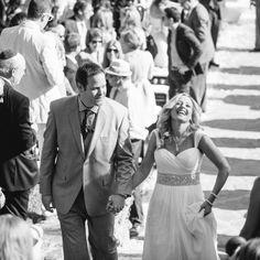 A Cheerful, Outdoor Wedding in Malibu, CA