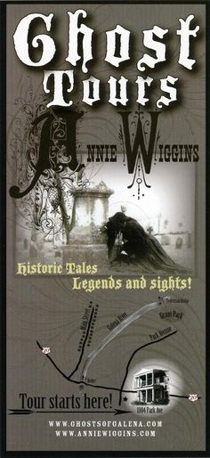Galena, Illinois: Annie Wiggins Guest House Ghost Tours