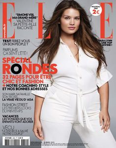 Plus-size model Tara Lynn nabbed the cover and more than 20 editorial pages  in the April issue of Elle France. Is this proof that fashion might set its  ... 9b831613e6a