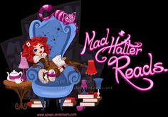 Mad Hatter Reads by kinkei on DeviantArt Pin Up, Pixar Characters, Link Art, Were All Mad Here, Kawaii, Disney Pixar, Art Pictures, Alice In Wonderland, Book Worms