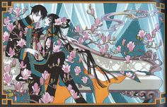 CLAMP - xxxHolic 【Watanuki & Yuko】