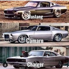 Mustang, Camaro and Charger all are my favorite. Custom Muscle Cars, Custom Cars, Supercars, Porsche Mission E, Dream Cars, Ford Classic Cars, Chevy Classic, Best Luxury Cars, Mustang Cars