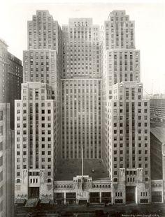 Art Deco Graybar Building, New York City, 1926-1927, Sloan & Robertson,