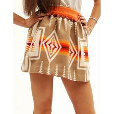Navajo print skirt